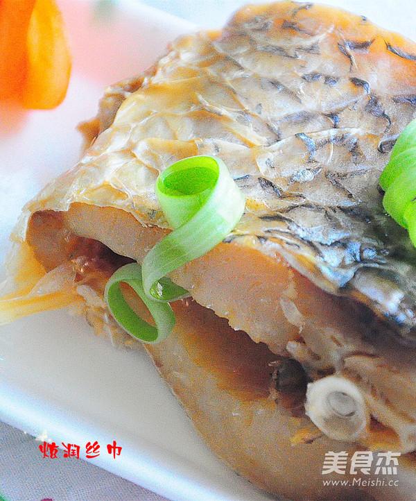 含丰富维生素之蒸咸鱼成品图