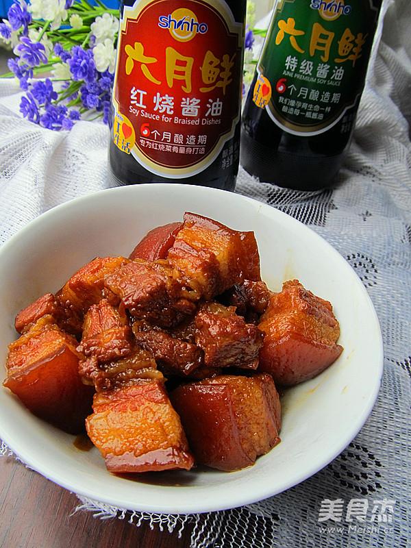红烧肉成品图