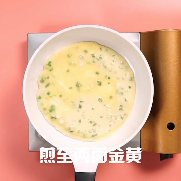 葱花鸡蛋饼的简单做法