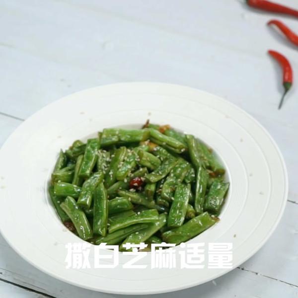 干煸四季豆成品图