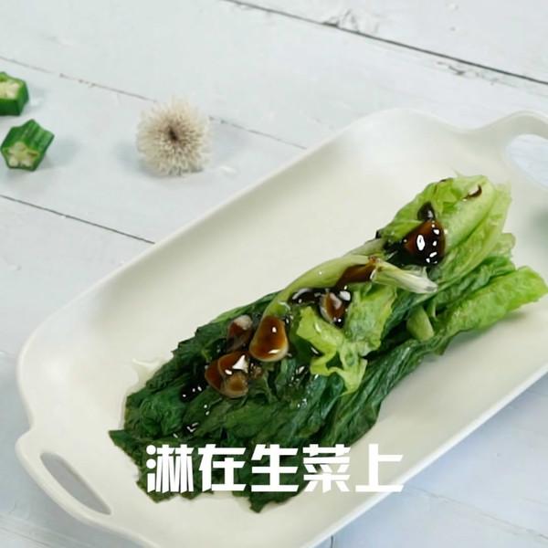 蚝油生菜怎么吃