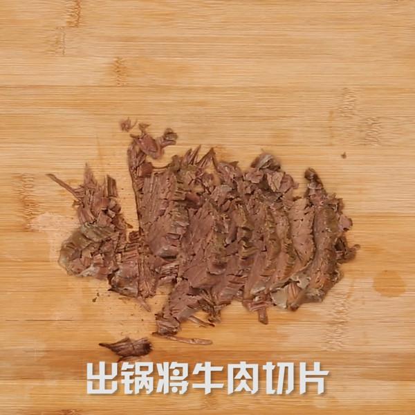 牛肉面的简单做法