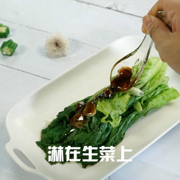 蚝油生菜的简单做法
