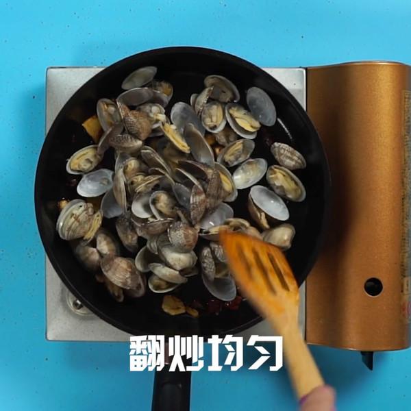 辣炒花蛤的简单做法