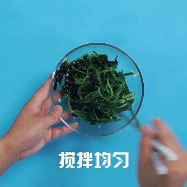凉拌菠菜的简单做法