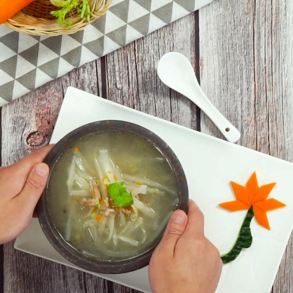 萝卜汤成品图