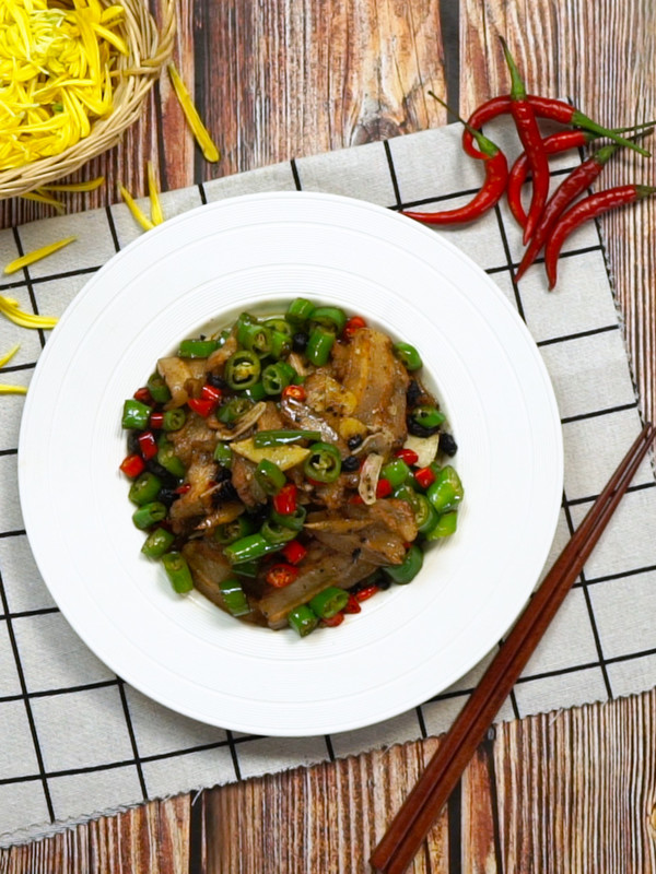 湖南小炒肉的简单做法