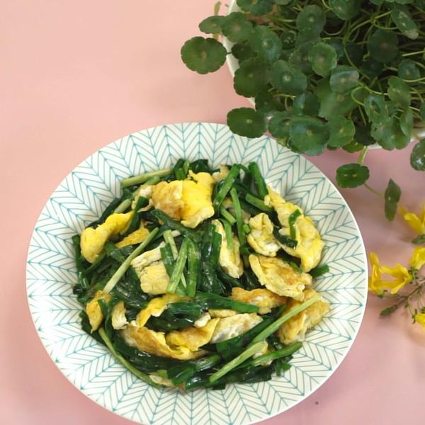 韭菜炒鸡蛋的简单做法