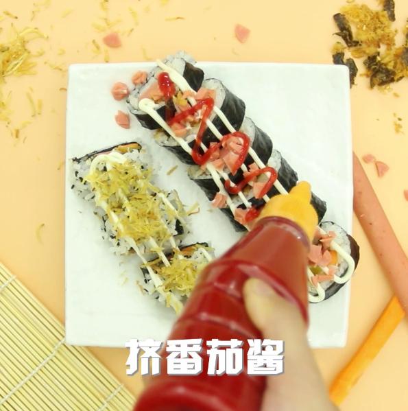 紫菜包饭怎么吃