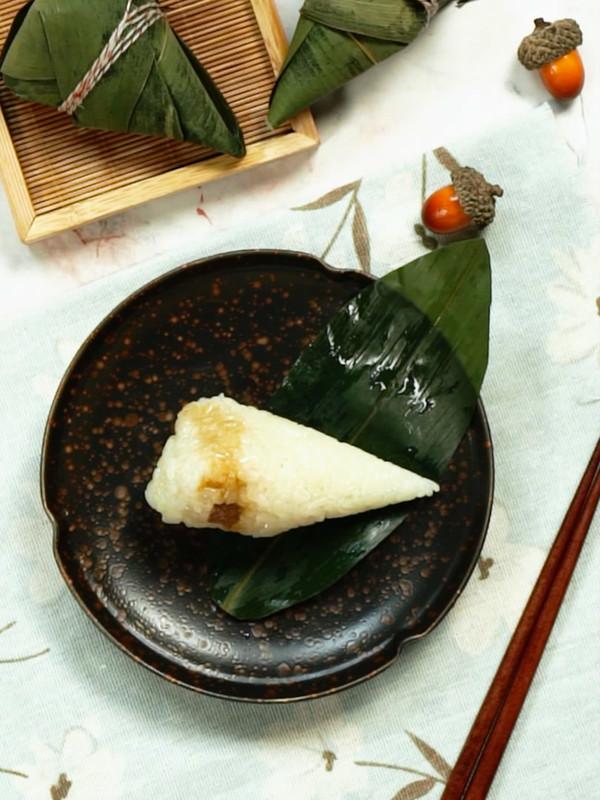 鲜肉粽子成品图