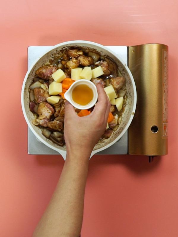 咖喱鸡的简单做法