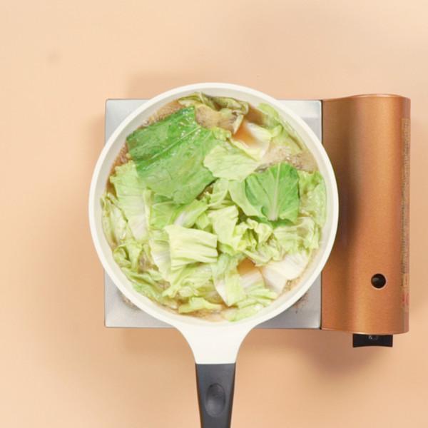 白菜豆腐汤的家常做法