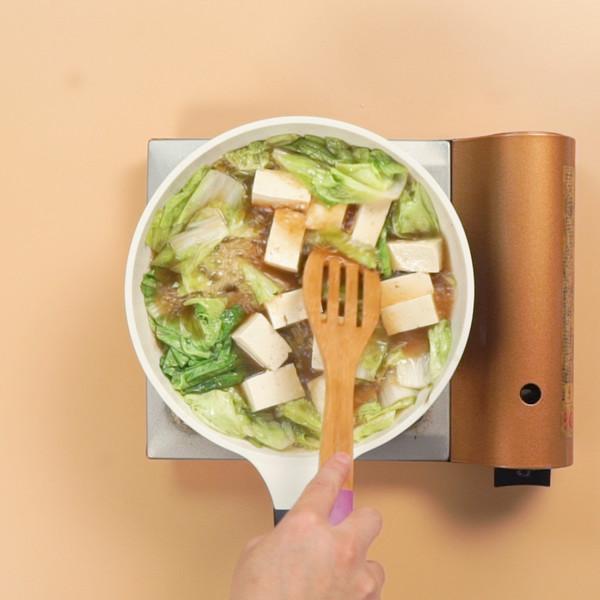 白菜豆腐汤怎么吃