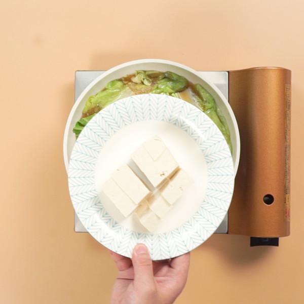 白菜豆腐汤的简单做法