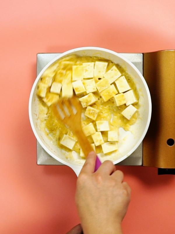 蟹黄豆腐的家常做法