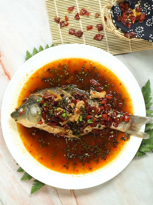 麻辣鱼成品图