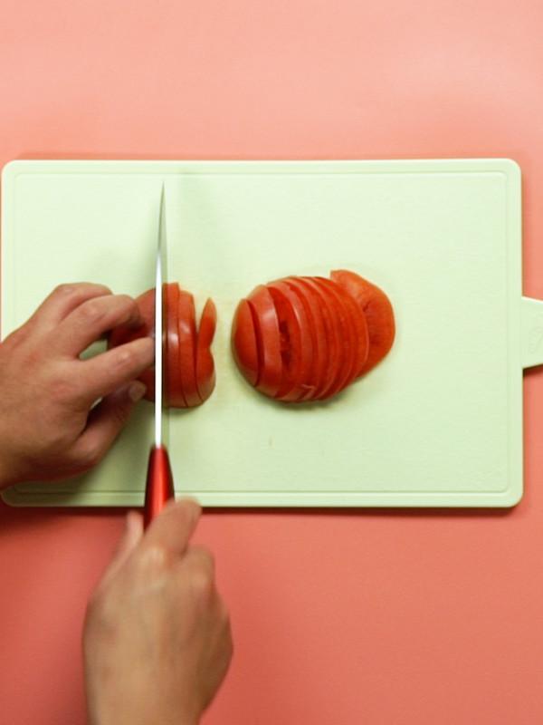 番茄煎蛋面的做法大全