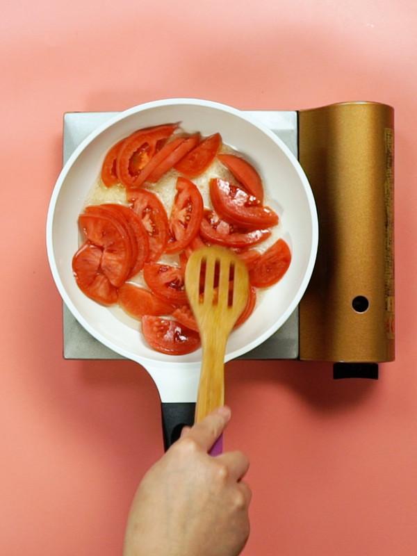 番茄煎蛋面的做法图解