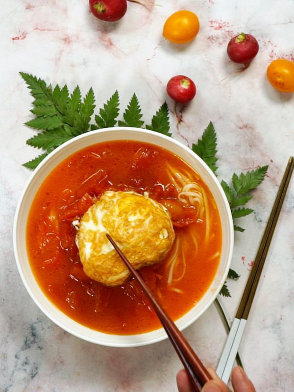 番茄煎蛋面怎么做
