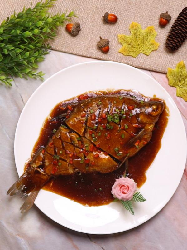 红烧武昌鱼成品图