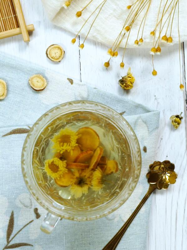 护肝茶成品图
