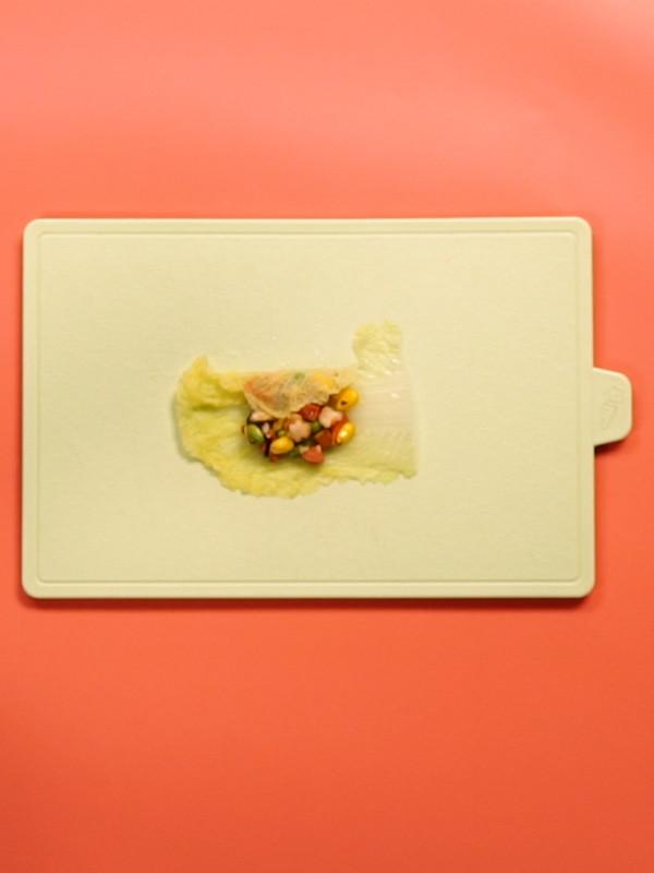 鲜香白菜包怎么吃