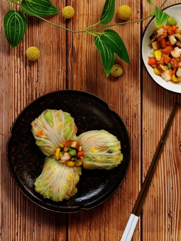 鲜香白菜包成品图