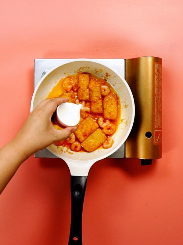 鲜虾番茄豆腐的简单做法