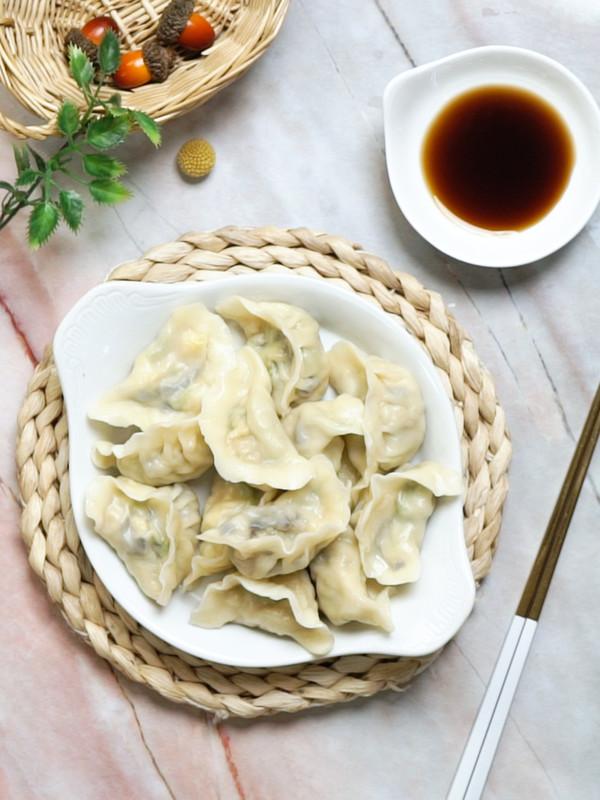 西葫芦饺子成品图