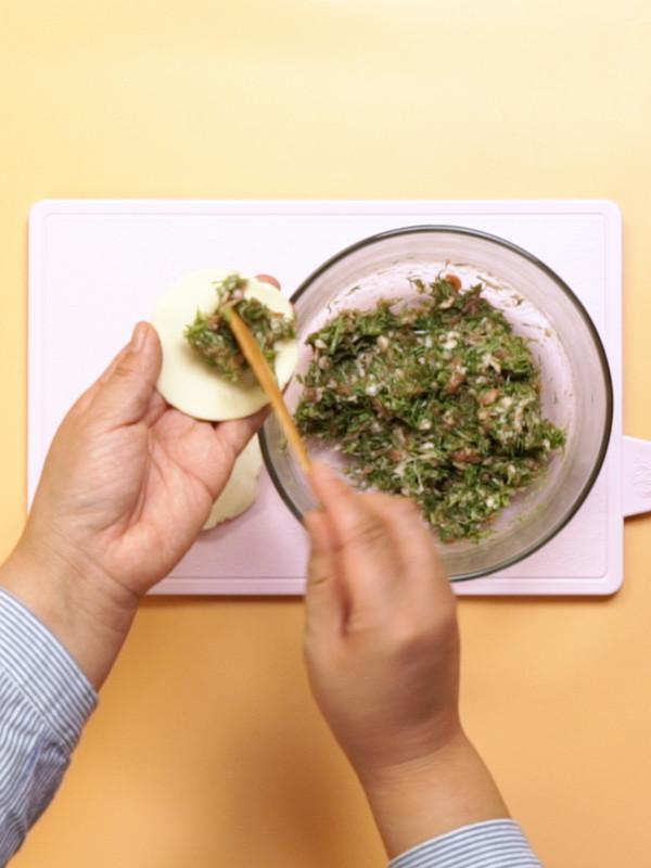 茴香饺子的家常做法