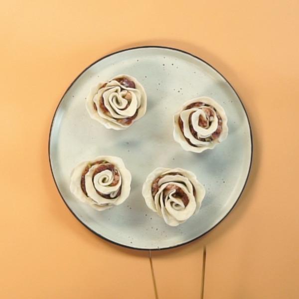 玫瑰花蒸卷的简单做法
