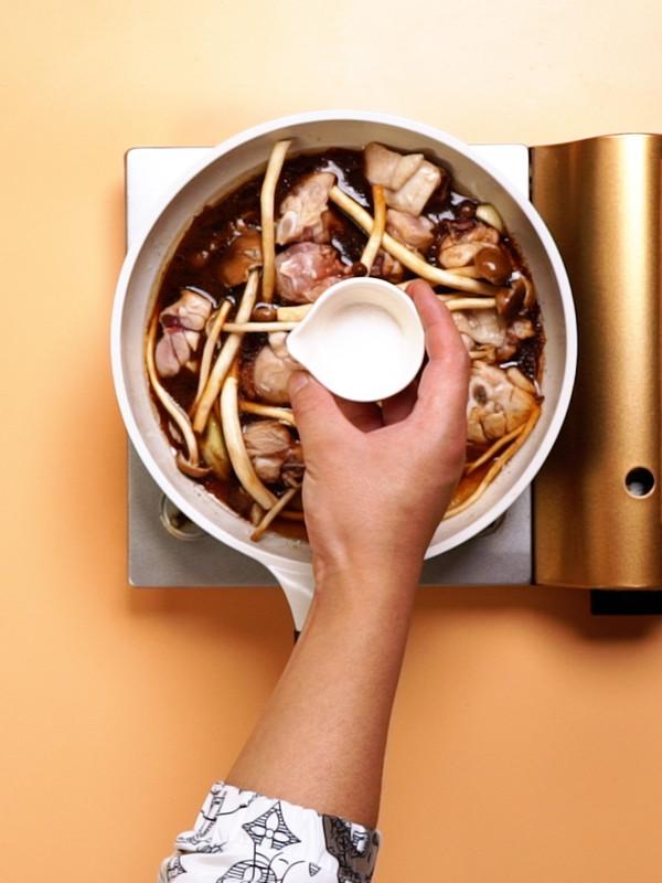 茶树菇炖鸡的简单做法