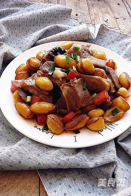 凤眼果焖羊肉成品图