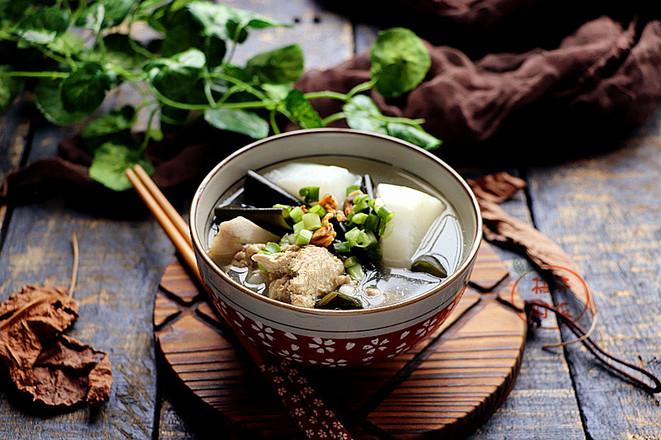 淡菜海带萝卜汤怎么炒