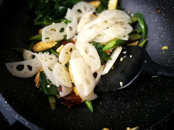 #合家欢乐#酱炒杂锦菜的家常做法