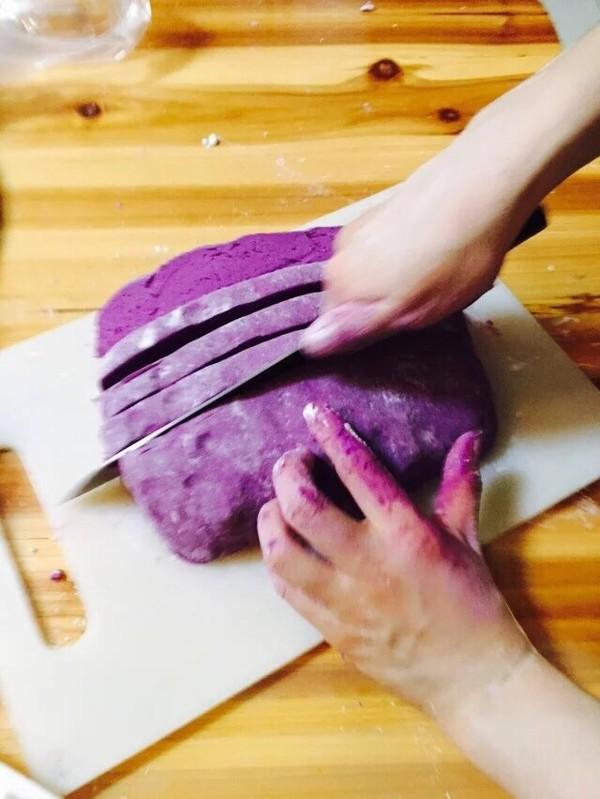 紫薯地瓜圆的家常做法