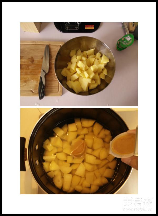 土豆南瓜浓汤的家常做法