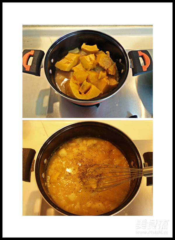 土豆南瓜浓汤的简单做法