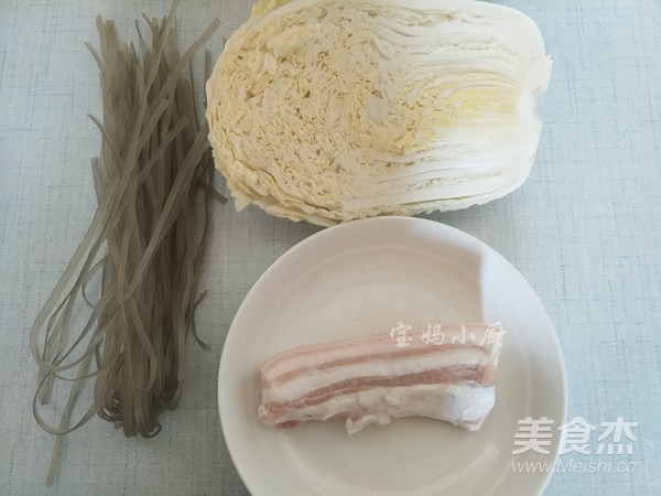 五花肉白菜炖粉条的做法大全