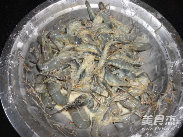 炸河虾的做法图解