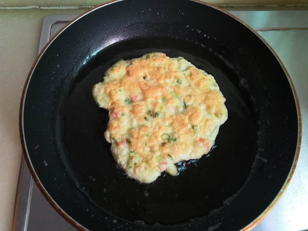 早餐鸡蛋饼的制作