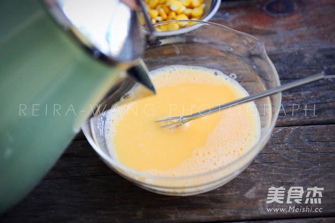 虾仁玉米蒸蛋的家常做法