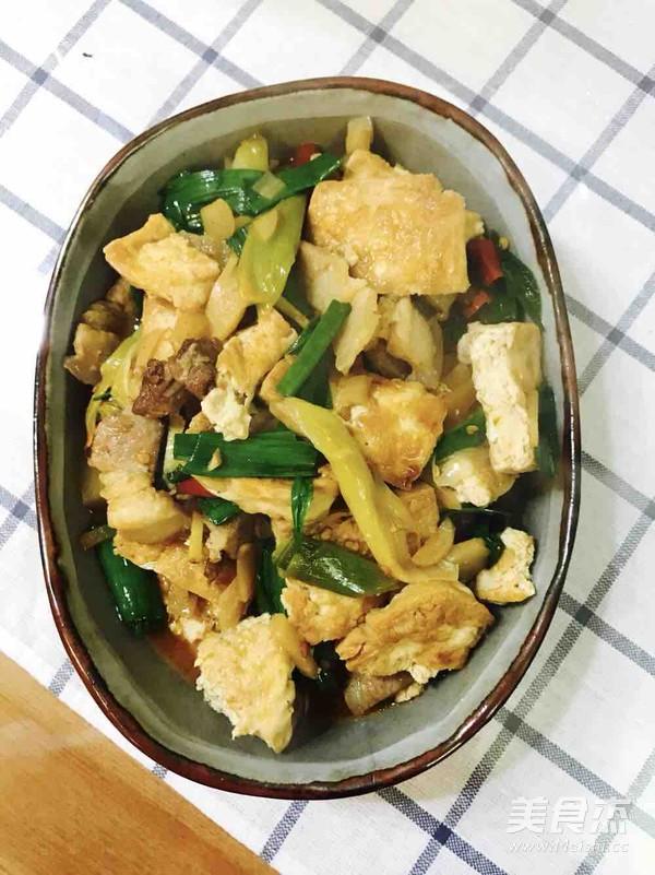 熊掌豆腐成品图