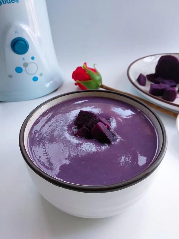 紫薯奶昔怎么吃