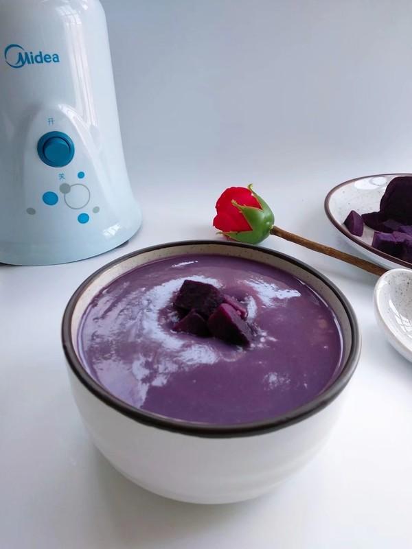紫薯奶昔成品图
