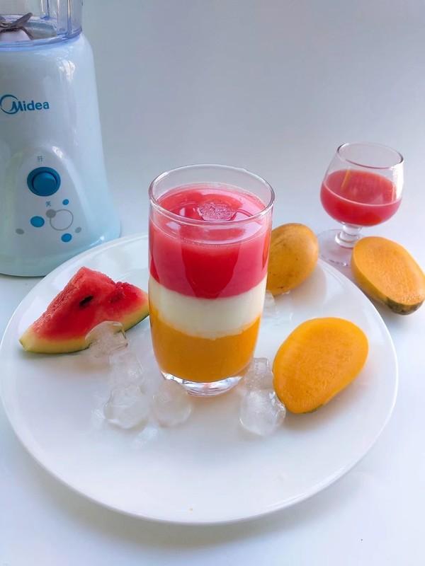 多彩果汁成品图