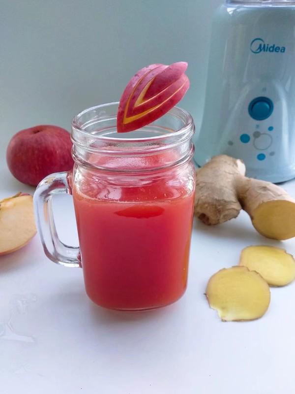 西瓜苹果姜汁成品图