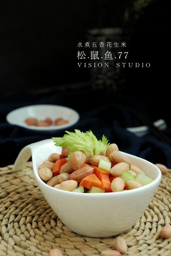 水煮花生米成品图