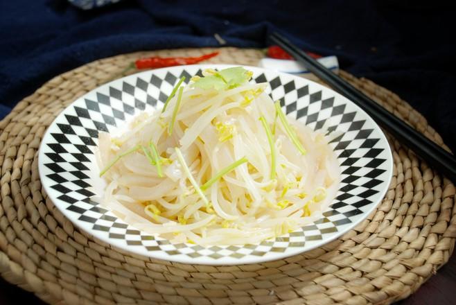 银芽拌魔芋成品图