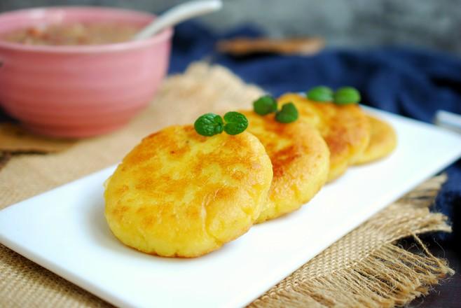 红薯糯米饼成品图